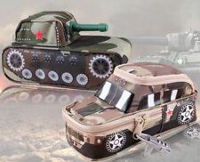 Militaire/Armée Camouflage Tank/Voiture Pencil Case verrouillable toile 1pc Cadeau 3 Couleurs