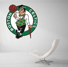 Boston Celtics Basketball NBA Wall Decal Vinyl Decor Car Sticker Art J06