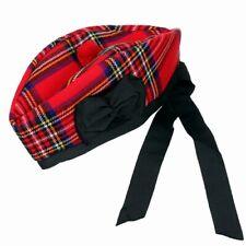 Royal Stewart Modern Tartan Glengarry Kilt Hat