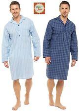 Sleepy Joes Nightwear Mens LIGHTWEIGHT Poplin 100% Cotton 1952 Nightshirt