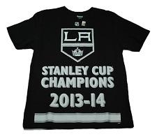 Los Angeles Kings - Reebok Stanley Cup Champions 13-14 NHL Hockey T-Shirt - L
