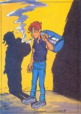 Ex-libris CARRERE LEO LODEN 11 200ex-s 17x24