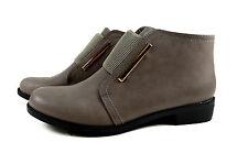 Elegante Damen Boots Frühling Stiefeletten Stiefel Gr.36-41 A.2130 Grau SuperMe