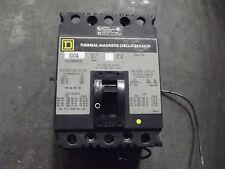 Square D 100 Amp Breaker FAL34H001021  3 Pole  480VAC  250VDC