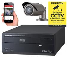 Samsung HD Home SECURITY SYSTEM 4 Channel NVR CCTV BULLET CAMERA KIT Outdoor SET