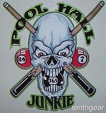 JUMBO POOL HALL JUNKIE JACKET PATCH biker iron on
