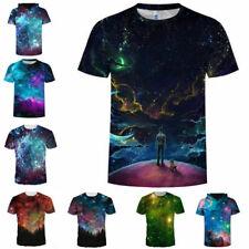 Fashion Summer Casual Tee 3D Print T-Shirts Mens Womens Graphic T Shirt Tops