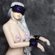 Sexy Lady Blindfold Silk Satin Floral Lace Eye Mask Handcuffs Bracelet Party Hot