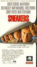 RARE-Sneakers (VHS) ROBERT REDFORD, RIVER PHOENIX & DAN AYKROYD -NEW