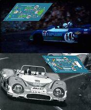 Calcas Matra MS650 Tour France Auto 1970 1:32 1:24 1:43 1:18 650  slot decals