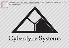 (2x) CYBERDYNE SYSTEMS Sticker Die Cut Decal Self Adhesive terminator skynet
