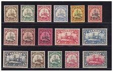 Samoa Einzelwerte aus Minr. 7 - 23  ** postfrisch  (mnh)