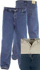 Nuova Uomo Taglia Grande Duke Rockford Jeans A Vita 40 42 44 46 48 50 52 54 56