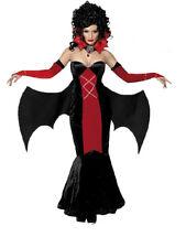 Costume Carnevale festa Halloween Donna Vampira Gotico smiffys *09003