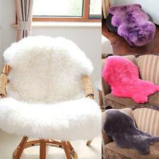 Soft Faux Fur Sheepskin Rugs Hairy Washable Carpet Mat Non Slip Fluffy Rug Mats