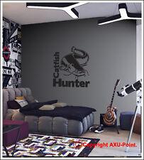Catfish Hunter-Parete/furgone/Auto-Copertura Ruota Di Scorta Adesivo Decalcomania