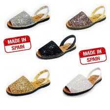 Glitter Menorcan/ Spanish Avarcas Sandals for Spring Winter Holiday/Sun