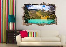 3D Jungle Green Lake 531 Wall Murals Wall Stickers Decal breakthrough AJ WALL CA