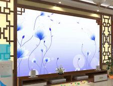 Blue Swaying Melody 3D Full Wall Mural Photo Wallpaper Printing Home Kids Decor