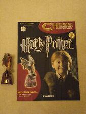 LOTTO N. HARRY POTTER Chess Magazine NO.53 con la grazia-Eyed White Bishop