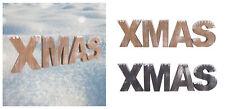 letras navidad inscripción 51x14cm Decoración De Madera mesa decorativa
