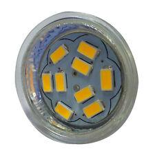 4W GU4(MR11) LED Spotlight MR11 9 SMD 5730 430 lm DC 12V, Warm White P9M6