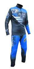 New Wulfsport Blue Trials Pants & Jersey Kit Sherco Evo Trousers Shirt Adults