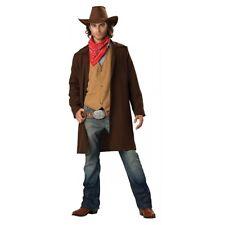 Cowboy Costume Adult Halloween Fancy Dress