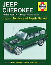 NEW HAYNES WORKSHOP REPAIR MANUAL JEEP CHEROKEE 93-96