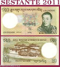 BHUTAN - 20 NGULTRUM 2006 - P 30 - FDS / UNC