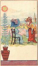 Victorian Trade Card-Sunday Item-Newspaper-Philadelphia, PA-Essay Contest