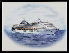 Original Art Work ...ms SEA PRINCESS ....cruise ship... Princess cruises