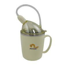 Stainless Steel Silicone Spout Cup Elderly Arthritis Caregivers Nursing Mug