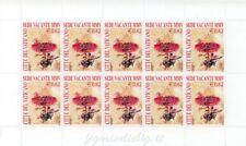 2003 MF1380 Sede Vacante 10 x € 0.62 - Minifoglio Vaticano Raro