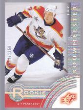 2001-02 SPx Rookie Redemption #R13 Jay Bouwmeester #'d/1250