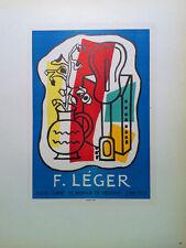 Fernand Leger - Mourlot lithograph - Galerie Louis Carre - 1959