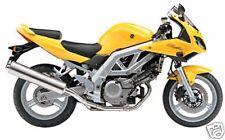 Suzuki 3 etapa retocar Kit De Pintura Sv650 Dl1000 Gsx600f Gsxr1000 orpiment Amarillo.