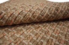 Tapis Flechtteppich 2 Tailles 70% Coton 30% Jute Fait à la Main Nature Beige