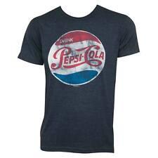 Pepsi Cola Vintage Logo Tee Shirt Blue