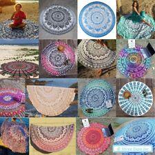 Round Tapestries Mandala Decor Indian Tapestry Hippie Dorm Throw Beach Yoga Mat