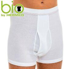 HERMKO 3942 Herren Pagen Doppelripp 100% BIO-Baumwolle hoher Leib Unterhose Shor