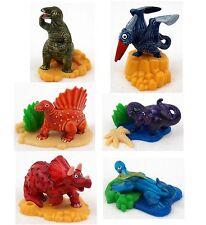 Kinder personajes pequeños gigantes dinosaurios saurios selección