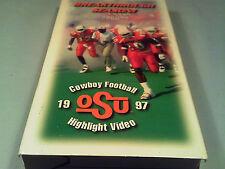 [i17] VHS TAPE - BREAKTHROUGH SEASON! 1997 Oklahoma State Cowboys Highlights