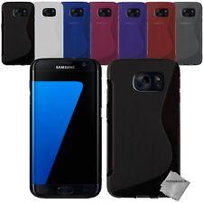 Housse etui coque silicone gel fine pr Samsung G935 Galaxy S7 Edge + film ecran