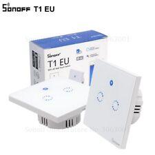 Sonoff T1 EU Smart Wifi Wall Touch Light Switch 1 Gang 2 Gang Touch/WiFi/433