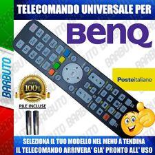 TELECOMANDO UNIVERSALE BENQ' CLICCA SUL TUO MODELLO LO RICEVERAI GIA PRONTO