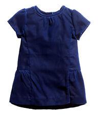H&M schönes Kleid / Samtkleid  Gr. 68, 74, 80, 92 dunkelblau  *NEU!*