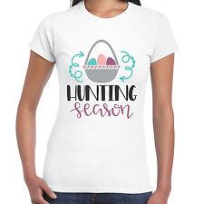 Hunting Season - Ladies T shirt -  Gift  Fun Easter Egg Tee