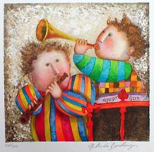 """Gracil Rodo Boulanger """"Musique Pour Les Yeux"""" Ninos Suite H/S# Litho.Musicians"""