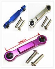 Aluminum Servo Steering Link Rod 30mm For RC HPI Savage Flux X XL 4.6 5.9